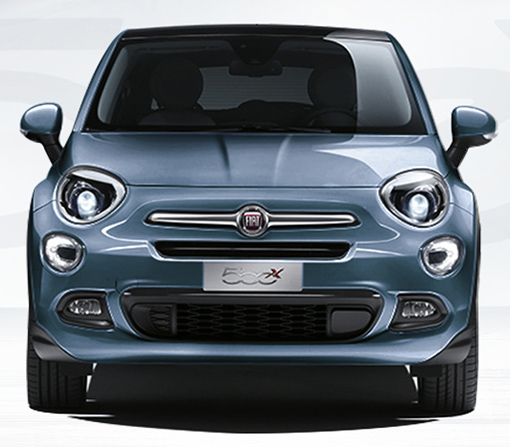 famille fiat 500x voiture crossover look urbain et off. Black Bedroom Furniture Sets. Home Design Ideas